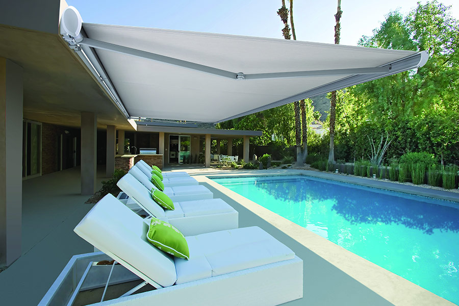Folding Arm Retractable Awnings Workhouse Interiors